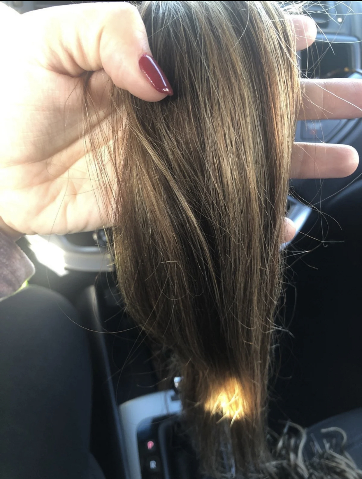 Chestnut Brown, 18'' Remy Hair Extensions: I-Tip